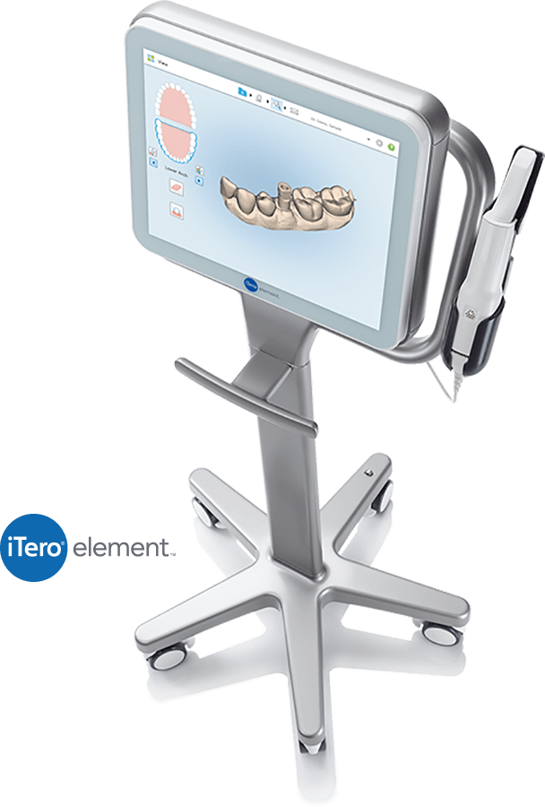 itero scanner used in invisalign treatment